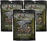 Northwest Naturals (3 Pack) Raw Rewards Freeze Dried Liver Treats, Lamb, 3 Ounces each