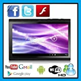 Afunta(tm) 2012 Cheapest 7 Inch Tablet Pc Android 4.0 Capacitive Screen 512m 4gb Camera Wifi, Camera, Skype Video Calling, Netflix Movies(black), Best Gadgets