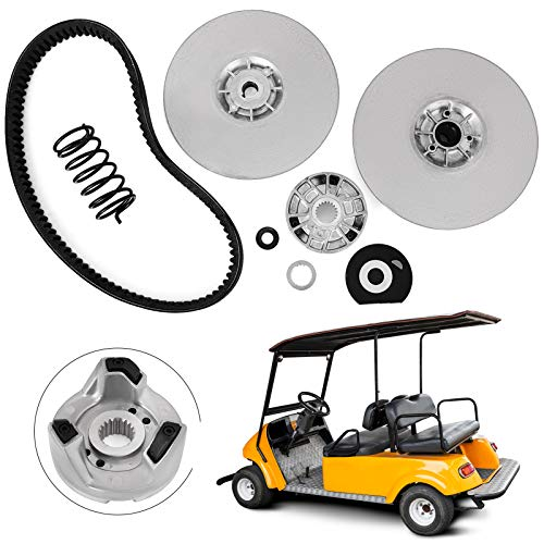 Bestauto Yamaha Gas Golf Cart G2-G22 1985-1992 Driven Power Clutch Kit with Belt