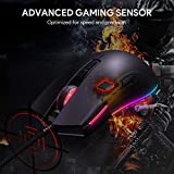AUKEY RGB Gaming Mouse Wired with 6 Adjustable DPI