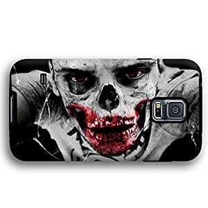 Halloween Scary Zombie Skull Samsung Galaxy S5 Armor Phone Case
