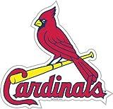 MLB St. Louis Cardinals 12-Inch Vinyl Magnet