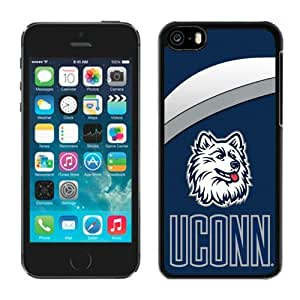Custom Iphone 5c Case Ncaa AAC American Athletic Conference Connecticut Huskies 3 Pensonalized Phone Covers