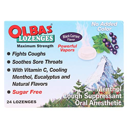 Olbas Lozenge, 24 per pack - 12 packs per case.