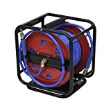 Online Gym Shop CB17528 Air Hose Reel Retractable - 99 ft.