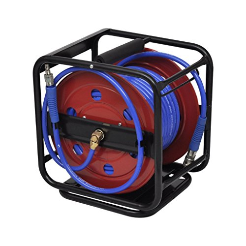 Online Gym Shop CB17528 Air Hose Reel Retractable - 99 ft. by OnlineGymShop.com