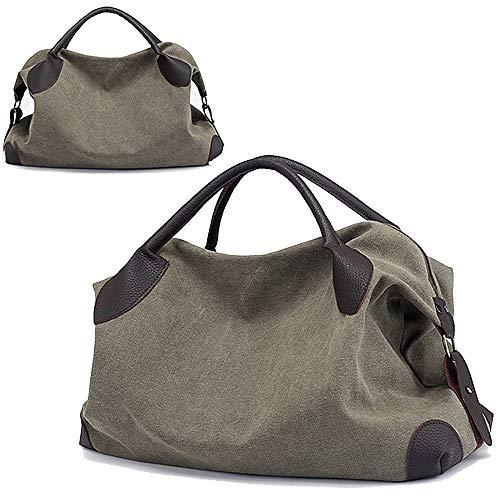 (Canvas Handbag,JuguHoovi Casual Hobo Purse Top Handle Handbags Crossbody)