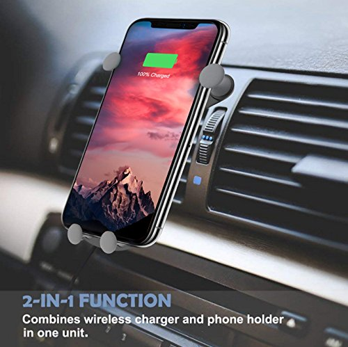 10W Wireless Car Charger, Wireless Fast Car Mount, Air Vent Phone Holder, Fast Charge for Samsung Galaxy S9, S9 plus, S8, S8 plus,note 8, note 5 by BESTHING (Image #6)