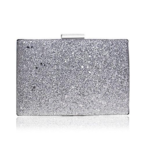 Argent Femme Pochette FUBULE Silver pour Silver tOZxw