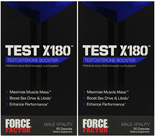 Force Factor - Test X180 - 60 Capsules (2 Pack) by Force Factor