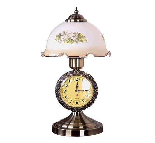 Lámpara de mesa de noche, lámpara de mesa de vidrio, lámpara ...