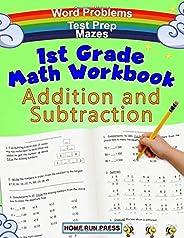 1st Grade Math Workbook Addition and Subtraction: Grade 1 Workbooks, Math Books for 1st Graders, Ages 4-8