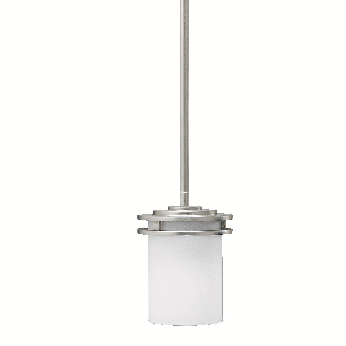 Kichler 3475ni mini pendant 1 light brushed nickel ceiling kichler 3475ni mini pendant 1 light brushed nickel ceiling pendant fixtures amazon aloadofball Images