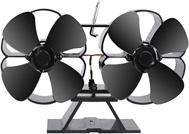 Ventilador con 8 hojas, funcionamiento con calor, para horno de ...