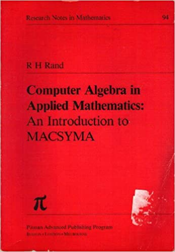 Computer Algebra in Applied Mathematics: Introduction to