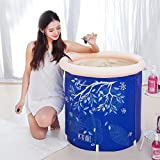 Sunhai& Adult Bath Tub Built-in Cushion Bath Barrels Children's Bath Tub Plastic Home Inflatable Tub Thicker