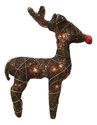 Outdoor Lighted Twig Balls - 6