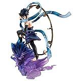 MegaHouse Naruto Shippuden Sasuke Uchiha Raijin GEM Series Remix Statue Figure