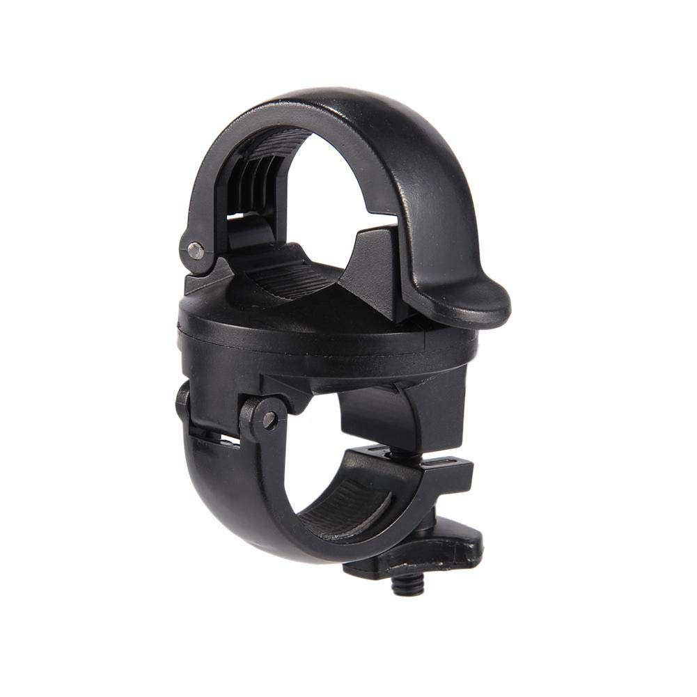 Cycling Light Holder, Rotation Torch Clip Mount Bike Bicycle Front Light Bracket Flashlight Holder LED Lamp Stand