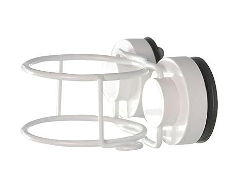 bestwoohome plástico soporte para secador de pelo soporte para colgar con ventosa soporte de pared para organizador para baño: Amazon.es: Jardín