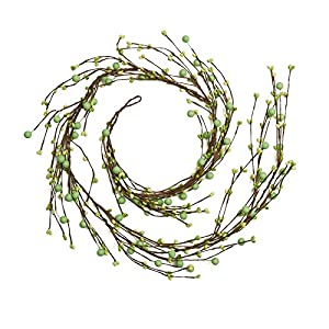 Factory Direct Craft Hand Wrapped Pip Berry Garland   56 Inches Long   for Indoor Decor 25