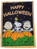 Cheap Peanuts Snoopy Happy Halloween flag, size 12 in x 18 in