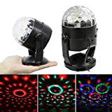 DJ Light Sound Activated Party Lights Disco Ball