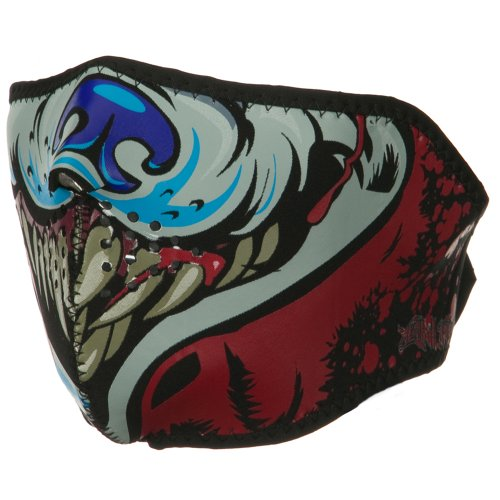 Lethal Threat Half Face Mask - Wolf OSFM