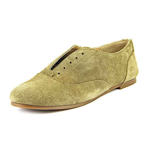 Sole Society Elena Womens Size 6 Brown Suede Oxfords Shoes