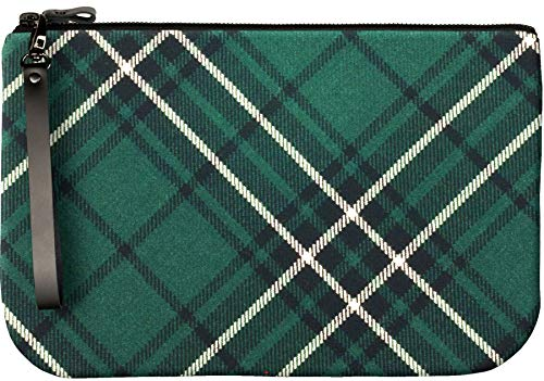 With Fit iPad MacLean Bag Leather Enough Large Medium an to Clutch Tartan Ffn1wzx