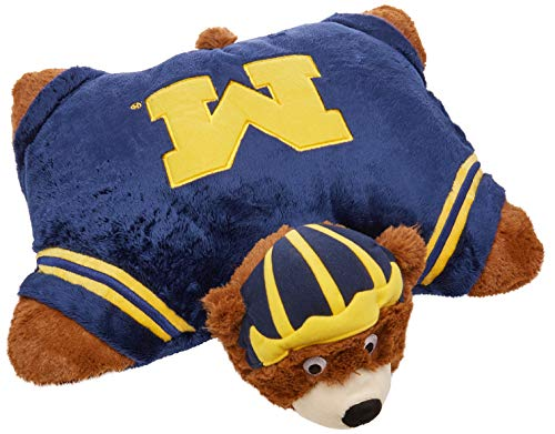 Fabrique Innovations NCAA Pillow Pet, Michigan Wolverines ()
