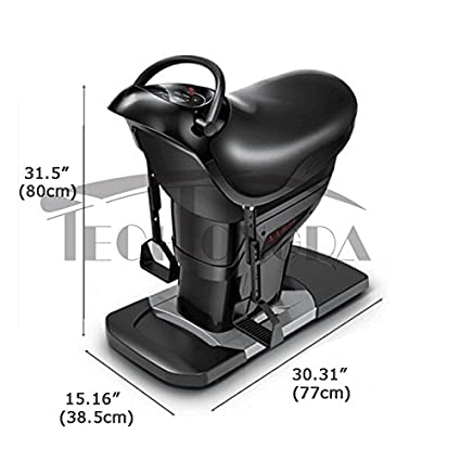 1e9feb4f59 Amazon.com : Techtongda Horse Riding Abdominal Exercise Machine Stomach  Weight Loss Trainer 110V Upgrade version : Sports & Outdoors