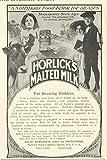 1905 Ad Horlick's Malted Milk Cute Kids Photo - Original Vintage Advertisement