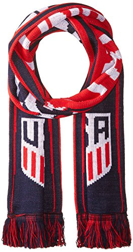 - Official US Soccer Scarf - 4 USMNT & USWNT Designs (Red, White & Blue)