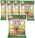 ハッピーペット ボディータオル 中型・大型犬用 15枚入×5個(まとめ買い)