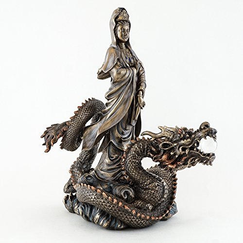 Top Collection Riding Dragon Statue