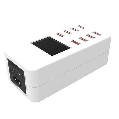 Asseny USB de Carga de Escritorio Estación 8 Puertos Rápido ...