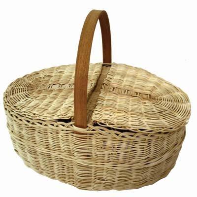 Wicker Picnic Basket Weaving Kit (Kits Wicker Weaving)
