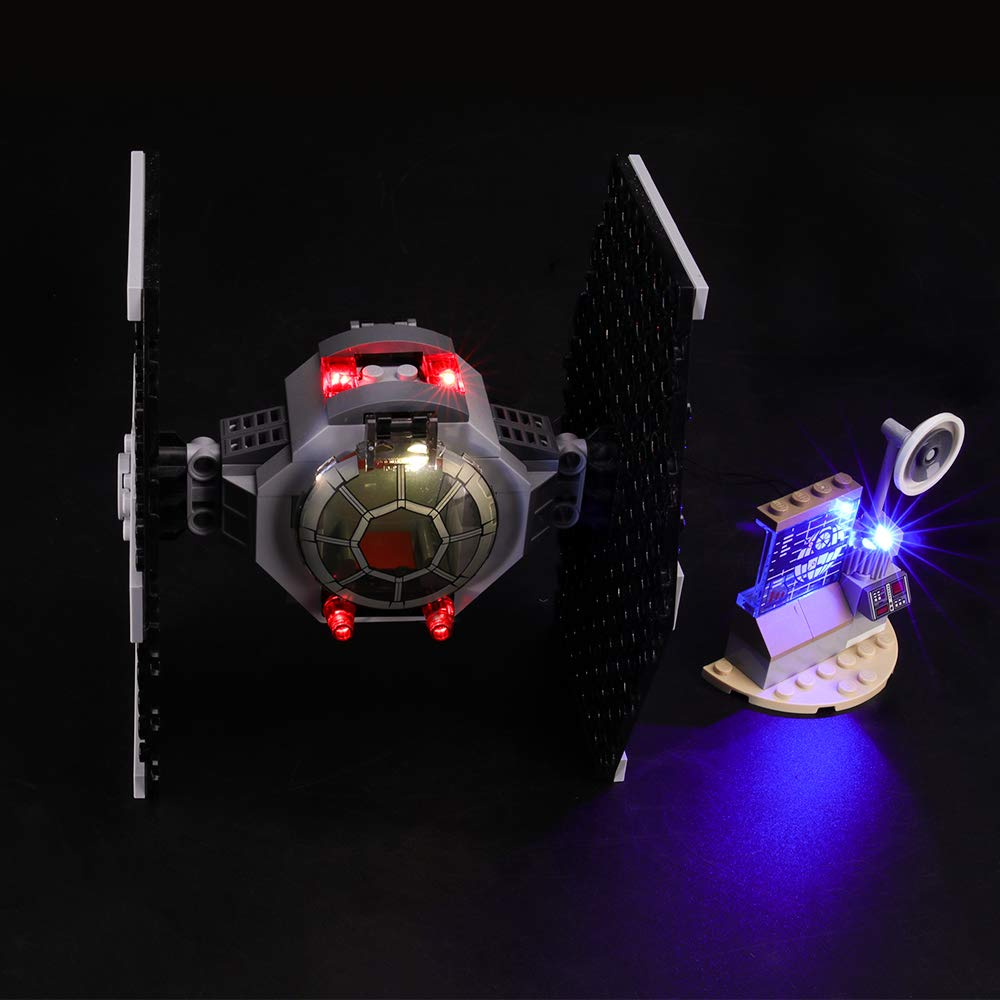 Led Light kit Compatible with Lego 75237 NOT Included The Model Building Blocks Model LIGHTAILING Light Set for Star Wars TIE Fighter Attack