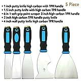 5 Piece Premium,home tool kit,home repair tools,tool set,tool kit,multi-use,paint scraper,putty knife,paint scraper set,tools,hand tools,tools