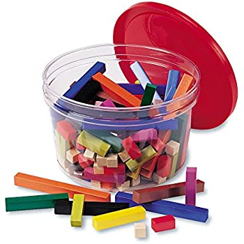 Learning Resources Cuisenaire Rods Small Group Set: Plastic