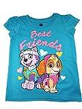 Paw Patrol Skye Short Sleeve Tee T-Shirt Little Girl's Teal