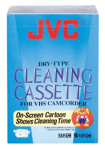 JVC TCC-3FU -Cleaning Cassette for VHS Camcorder