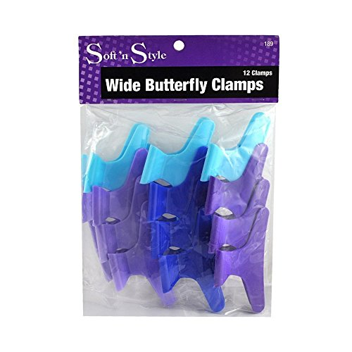 Butterfly Clamps 2-dozen * Size: Large 3