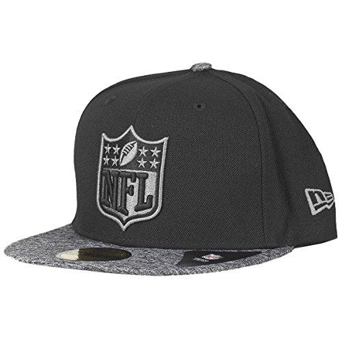 祈りアトラスミシン目ニューエラ (New Era) 59フィフティ Fitted キャップ - グレー II NFL Shield