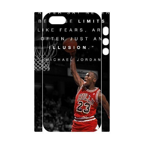 Michael Jordan DIY 3D Cover Case for Iphone 5,5S,personalized phone case ygtg-688994
