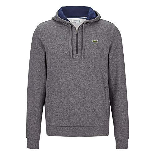 Lacoste Blue navy Sh3527 hoodie sweatshirt Pitch À Capuchon Homme Chandail 5ny monsieur rFvAzrx