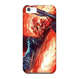 Tough Iphone Case Cover/ Case For Iphone 5c(ghost Rider I4)