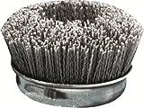 United Abrasives/SAIT 04390 1-Inch Nylon End Brush with 80X, 6-Pack