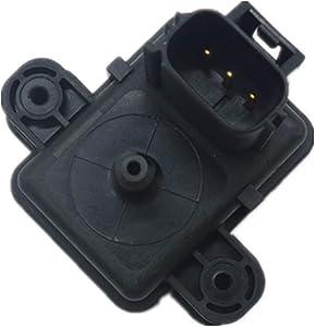 MAP Sensor Fit for Ford F250 F350 F450 F550 Super E-Series Duty Diesel 6.0L Trucks Vans, Manifold Absolute Pressure CX-1961 2L1A-9F479-AA 2L1A9F479AA 2L1Z-9F479-AA 2L1Z9F479AA